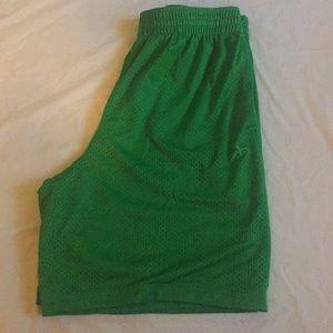 Athletech Green Shorts